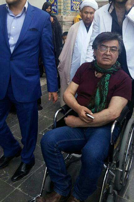 رضا رویگری در مشهد