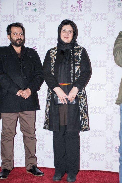 مدل لباس ریما رامین فر در نهمین روز سی و چهارمین جشنواره فیلم فجر