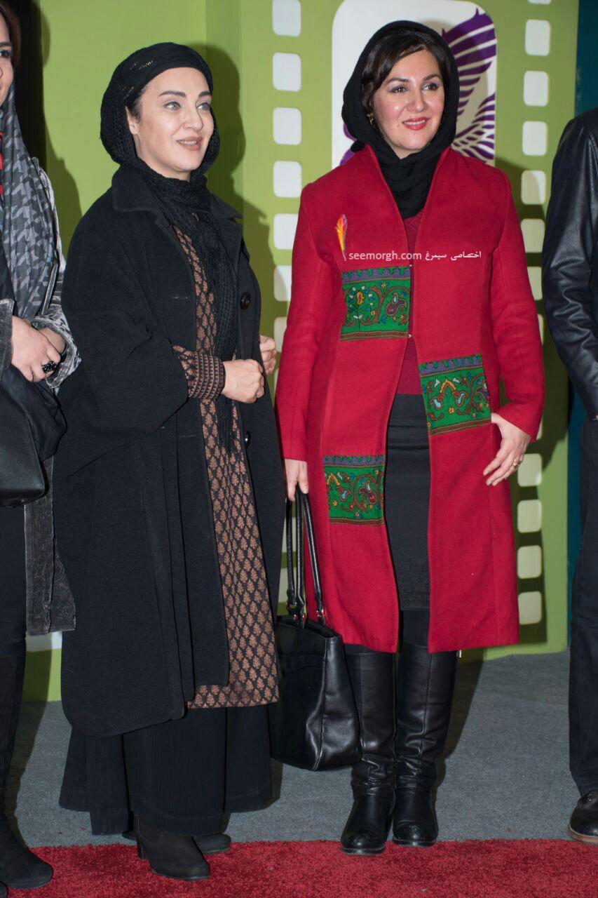 مدل لباس ستاره اسکندری و رویا نونهالی در دومین روز سی و چهارمین جشنواره فیلم فجر