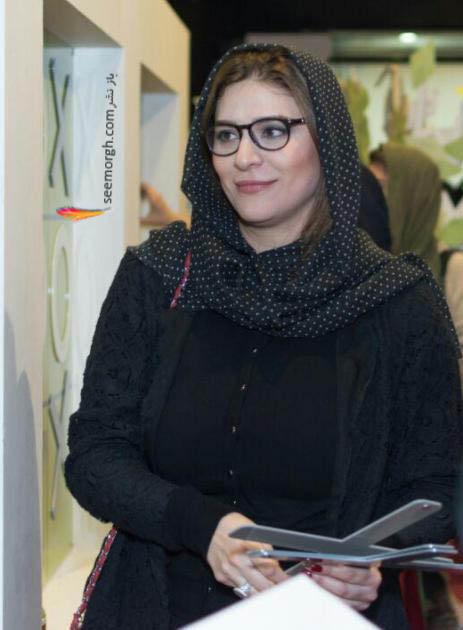 چهره سحر دولتشاهی با عینک