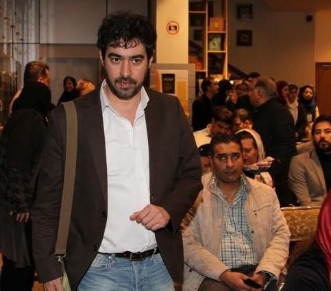 شهاب حسینی در مراسم حضور داشت