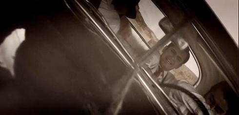 صحنه تصادف در سریال شهرزاد 3