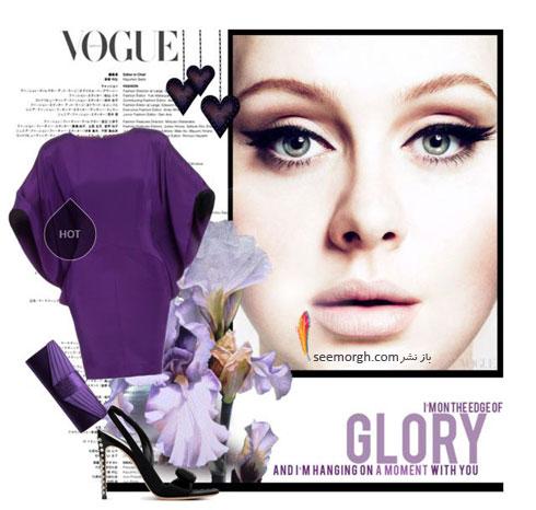 ست کردن لباس بهاری به سبک ادل Adele - ست لباس شماره 2