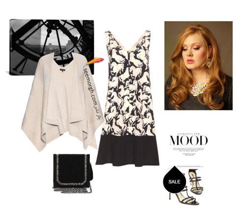 ست کردن لباس بهاری به سبک ادل Adele - ست لباس شماره 5