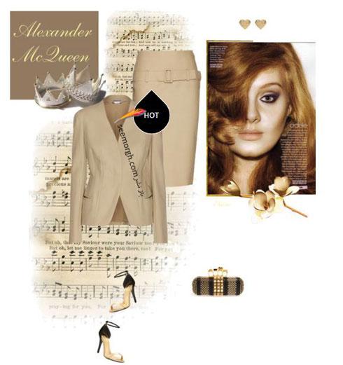 ست کردن لباس بهاری به سبک ادل Adele - ست لباس شماره 6