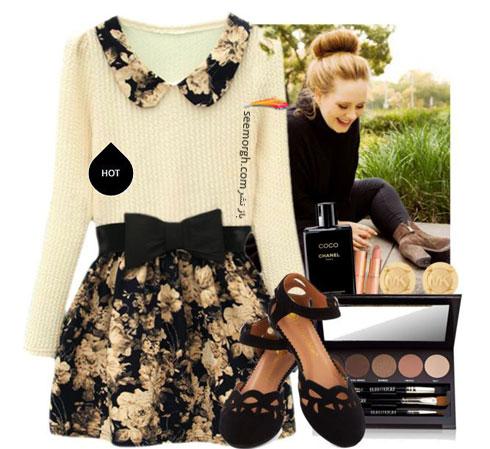 ست کردن لباس بهاری به سبک ادل Adele - ست لباس شماره 9