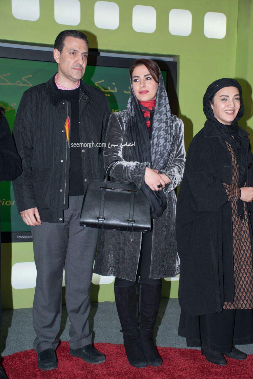 مدل لباس تینا پاکروان در دومین روز سی و چهارمین جشنواره فیلم فجر