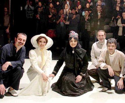 ویدا جوان در تئاتر مضحكه شبيه قتل