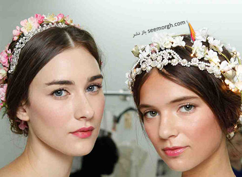 مدل موی عروس برای بهار 2016 به پیشنهاد مارتا استوارت marthastewart - مدل شماره 4
