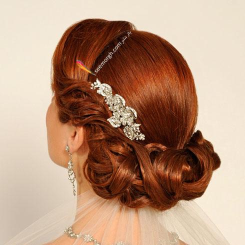 مدل مو عروس به سبک عروس های اروپایی - مدل مو عروس شماره 5