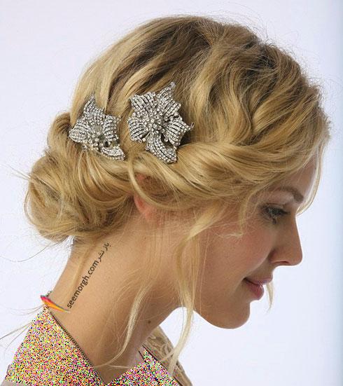 مدل مو عروس به سبک عروس های اروپایی - مدل مو عروس شماره 6