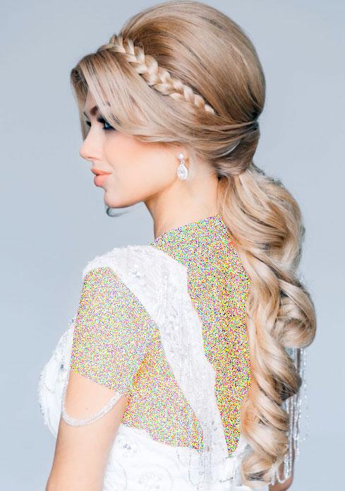 مدل موی باز برای عروس خانم ها