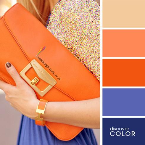 ست کردن لباس با رنگ های تند در تابستان - ست شماره 3