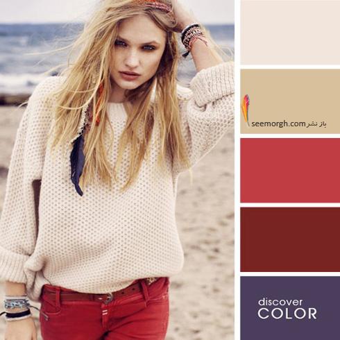 ست کردن لباس با رنگ های تند در تابستان - ست شماره 6