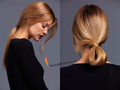 مدل مو تابستانی مخصوص دختر خانم های جوان به پیشنهاد مجله Harpersbazaar - مدل مو شماره 1