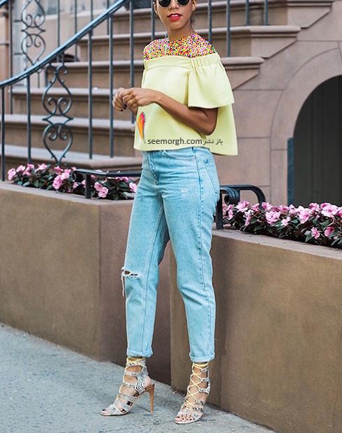 ست کردن مدل های مختلف شلوار جین با کفش - عکس شماره 1