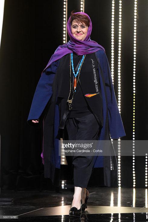 همسر کتایون شهابی عکس جشنواره کن داور جشنواره کن بیوگرافی کتایون شهابی 2016 Cannes