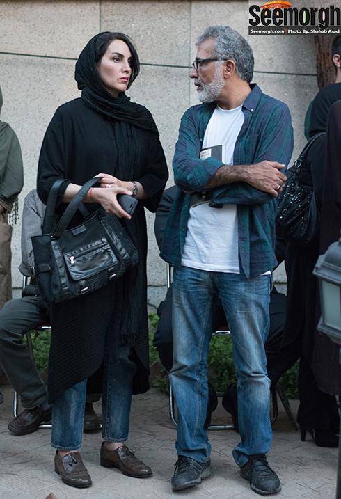 بهروز افخمی و همسرش مرجان شیرمحمدی