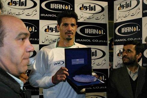 عکس محمود احمدی نژاد و علی دایی