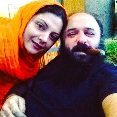 سولماز غنی و همسرش علی رحیمی