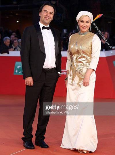 مدل لباس آنا نعمتی در جشنواره فیلم رم - عکس شماره 3