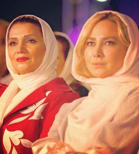 آنا نعمتی و الهام پاوه نژاد در کنسرت حافظ ناظری