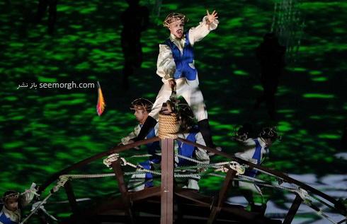 مراسم افتتاحیه المپیک 2016(6)