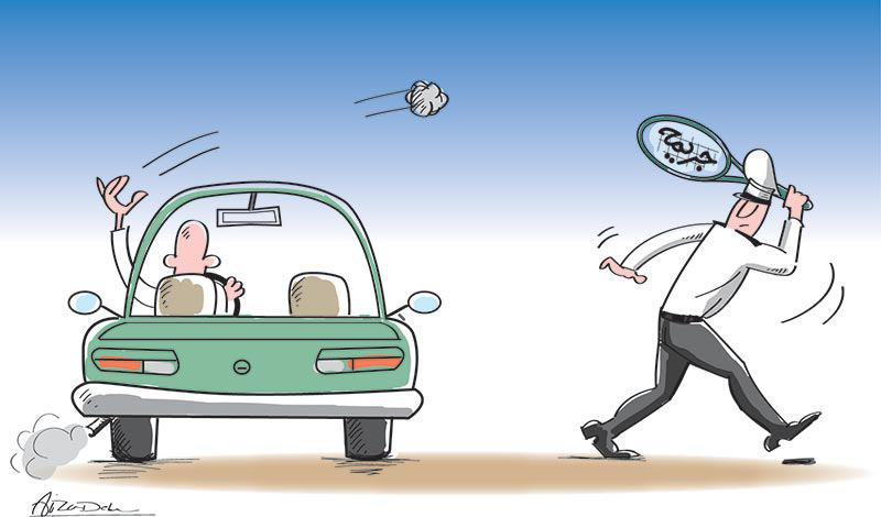جریمه پرتاب آشغال از خودرو