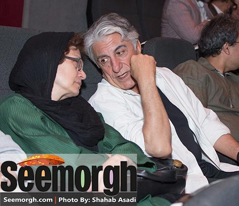 حضور رضا کیانیان در مهمانی بهرام رادان