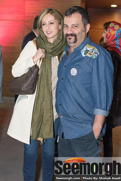 عکس مهراب قاسم خانی و همسرش شقایق دهقان