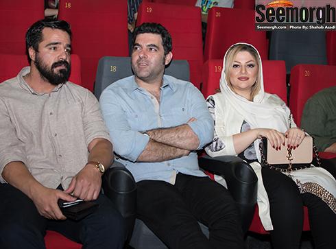 مصطفی کیایی در کنار همسرش