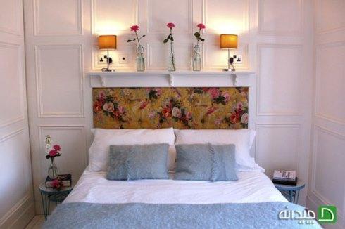 نقطه کانونی اتاق خواب سفیدتان را مشخص کنید