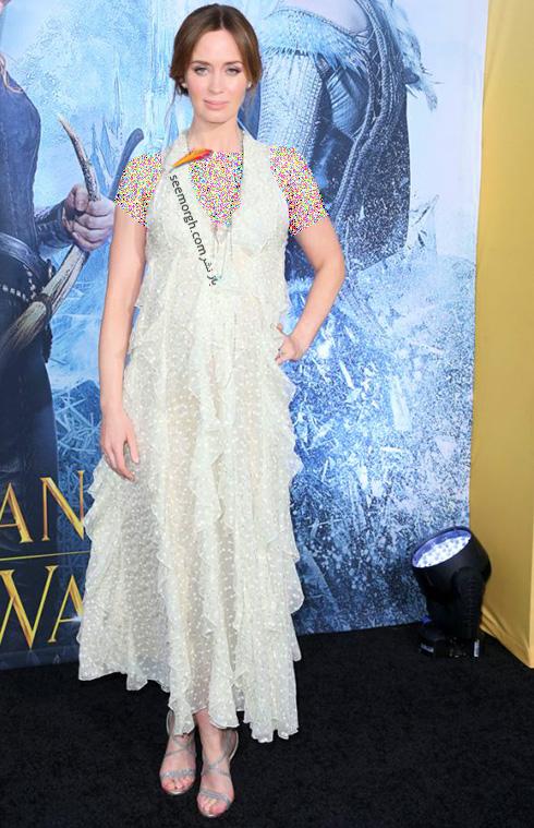 مدل لباس امیلی بلانت Emili Blunt در 11 آوریل، هفته مد