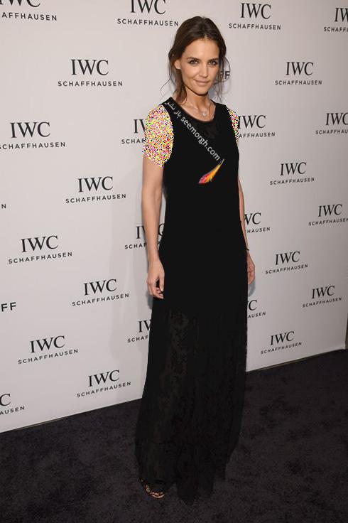 مدل لباس کیتی هولمز Katie Holmes در 11 آوریل، هفته مد