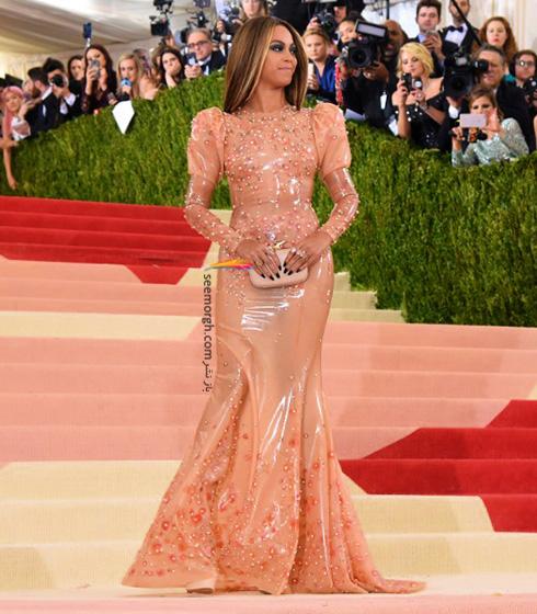 مدل لباس بیانسه Beyonce در مراسم مت گالا Met Gala 2016