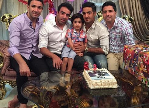 عکس جشن تولد پسر نکونام