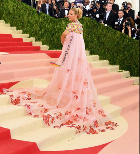 مدل لباس بلیک لایولی blake lively در مراسم مت گالا Met Gala 2016