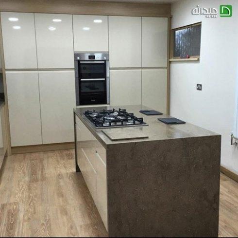 کابینت آشپزخانه کوچک : استفاده جزیره