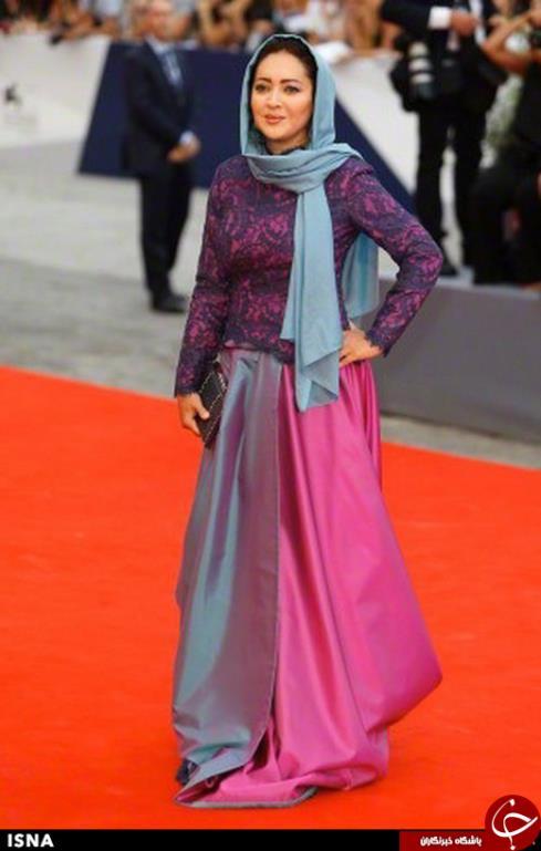 لباس نیکی کریمی در یکی از جشنواره های بین المللی
