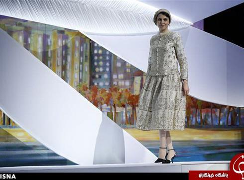 لباس لیلا حاتمی در جشنواره کن 2014