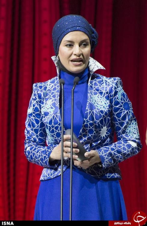 لباس مریلا زارعی در جشنواره آسیا پاسیفیک 2014