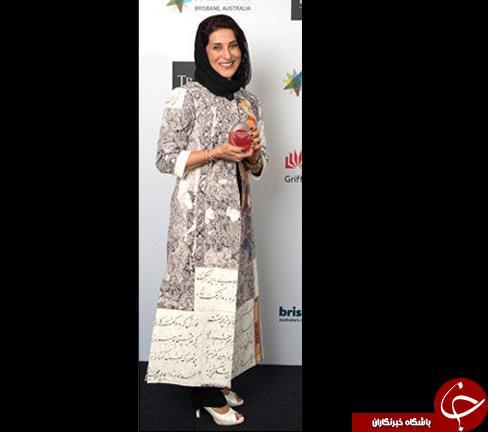 لباس فاطمه معتمدآریا در جشنواره آسیا پاسیفیک