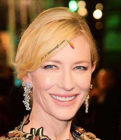 مدل آرایش کیت بلانشت Cate Blanchett در مراسم بفتا 2016 Bafta