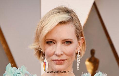 مدل آرایش کیت بلانشت Cate Blanchett در مراسم اسکار 2016 Oscar
