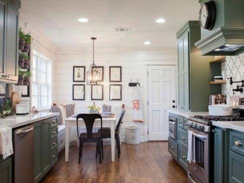 استفاده از رنگ های طبیعی در دکوراسیون داخلی آشپزخانه