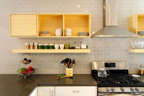 استفاده از زرد کم رنگ در دکوراسیون داخلی آشپزخانه