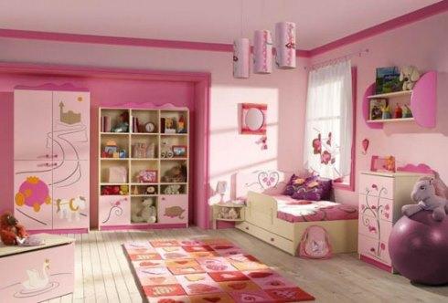 صورتی مناسب ترین رنگ اتاق کودک دختر و پسر