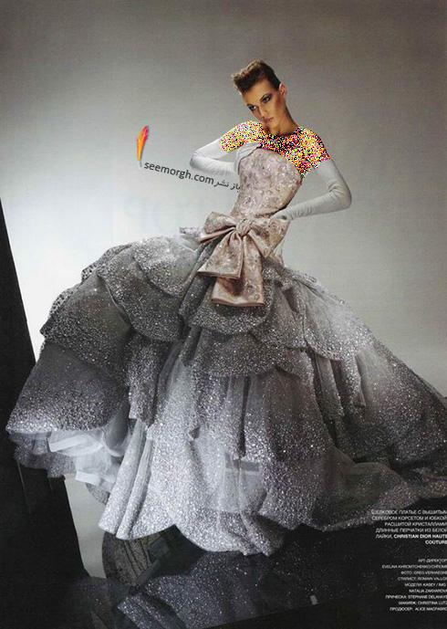 برترین مدل های لباس عروس کریستین دیور Christian Dior در دنیای مد - عکس شماره 2