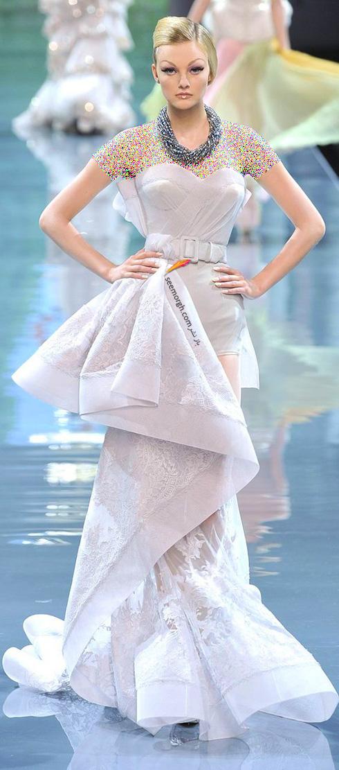 برترین مدل های لباس عروس کریستین دیور Christian Dior در دنیای مد - عکس شماره 4