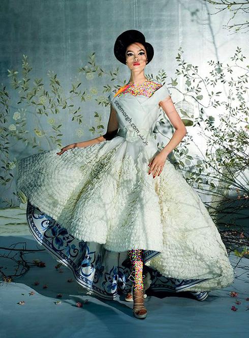 برترین مدل های لباس عروس کریستین دیور Christian Dior در دنیای مد - عکس شماره 5